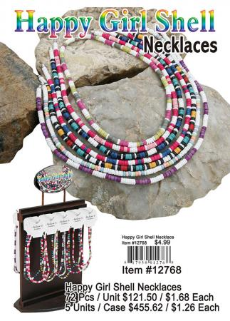 12768-Happy-Girl-Shell-Necklaces