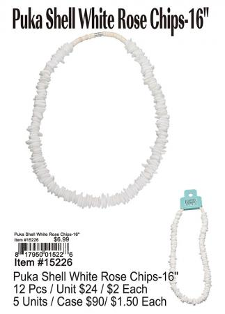 15226-Puka-Shell-White-Rose-Chips-16in