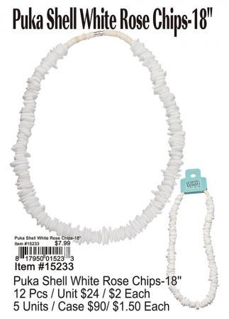 15233-Puka-Shell-White-Rose-Chips-18in