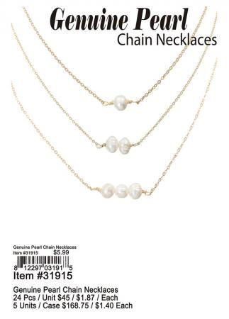 31915-Genuine-Pearl-With-Chain-Necklaces