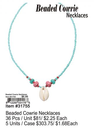 31755-Beaded-Cowrie-Necklaces