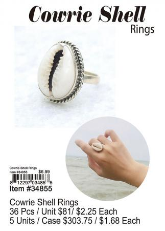 34855-Cowrie-Shell-Rings