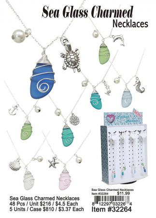 32264-Sea-Glass-Charmed-Necklaces