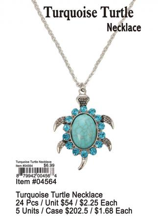 04564-Turquoise-Turtle-Necklace