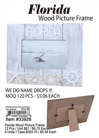 33926-Florida-Wood-Picture-Frame