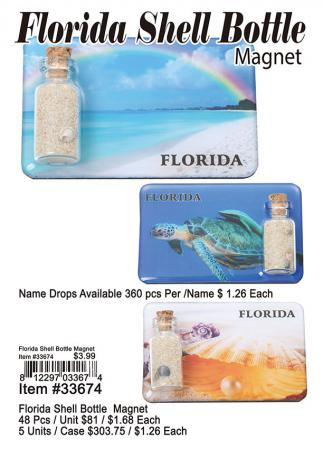 33674-Florida-Shell-Bottle-Magnet
