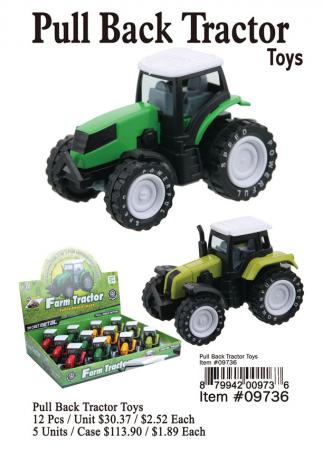 09736-Pull-Back-Tractor-Toys