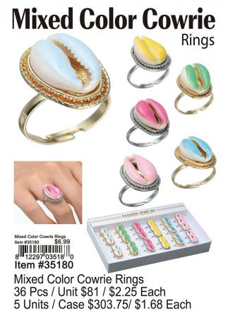 35180-Mixed-Color-Cowrie-Rings