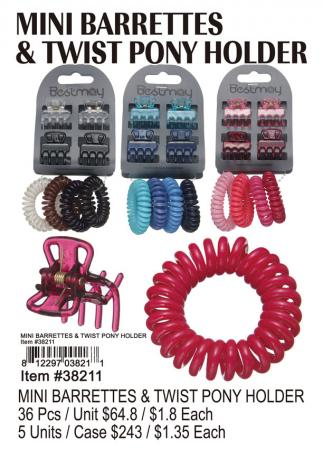 38211-Mini-Barrettes-&-Twist-Pony-Holder