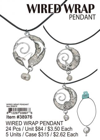 38976-Wired-Wrap-Pendant