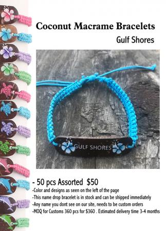 Coconut-Name-Drop-Bracelets-Gulf-Shores