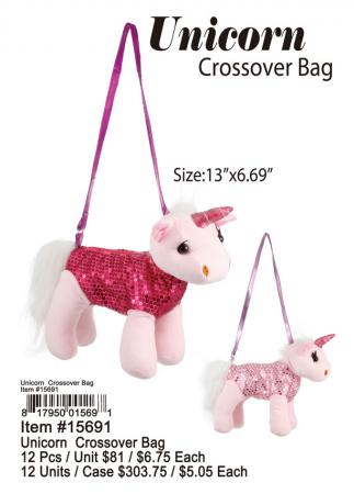15691-Unicorn-Crossover-Bag