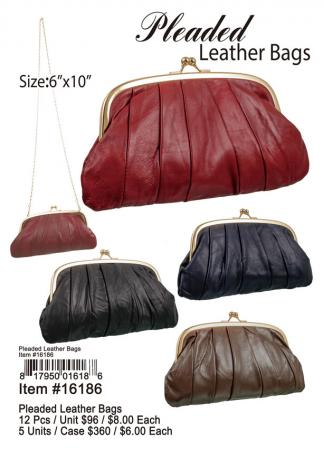 16186-Pleaded-Leather-Bags
