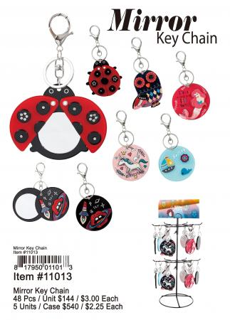 11013-Mirror Key Chain