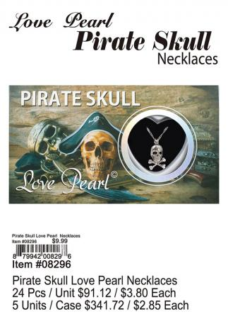 08296-Pirate-Skull-Love-Pearl-Necklace