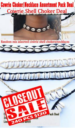 Chokers-Cowrie-Necklace-Shell-Choker-Deal-1